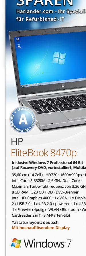 HP EliteBook 8470p gebraucht kaufen Bild1