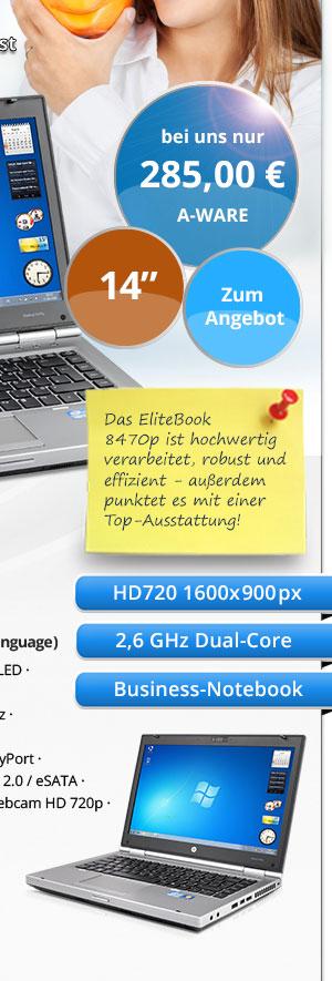 HP EliteBook 8470p gebraucht kaufen Bild2