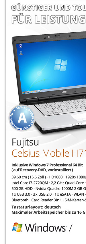 Fujitsu Celsius Mobile H710 gebraucht kaufen Bild1