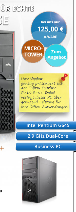 Fujitsu Esprimo P710 E85+ gebraucht kaufen Bild2