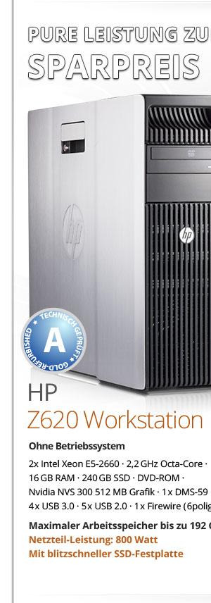 HP Z620 Workstation gebraucht kaufen Bild1