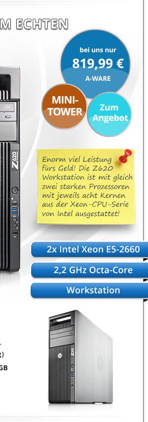 HP Z620 Workstation gebraucht kaufen Bild2