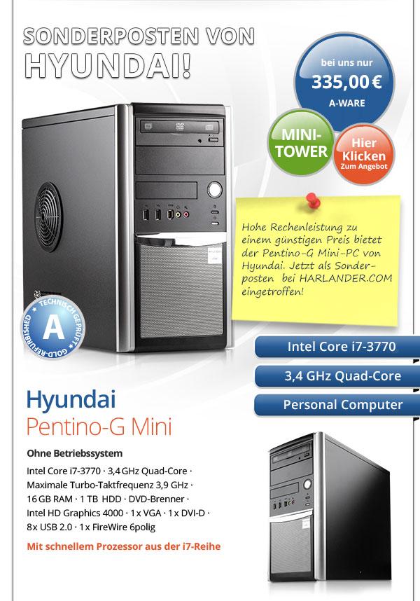 Hyundai Pentino-G PC gebraucht kaufen