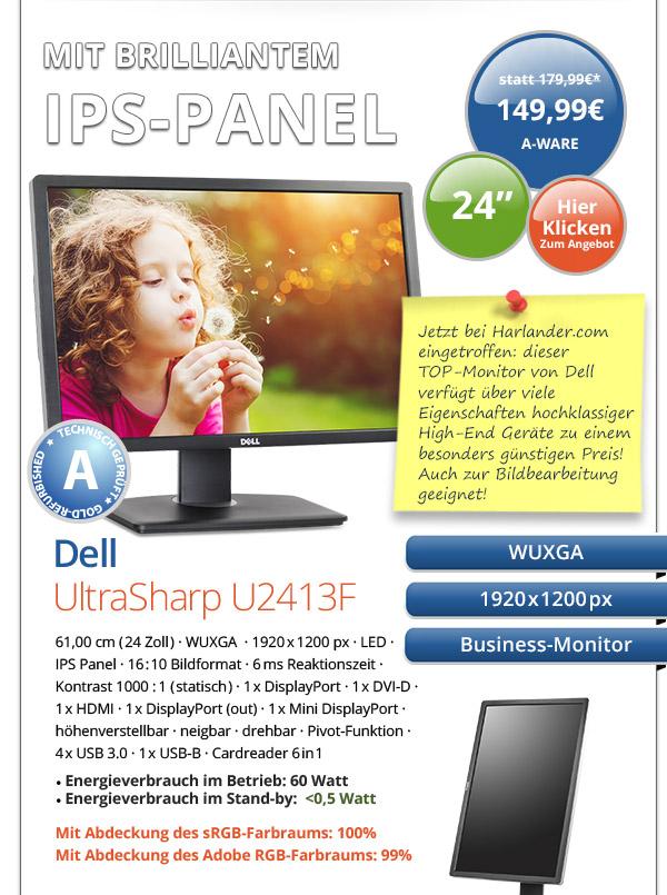 Dell UltraSharp U2413F gebraucht kaufen