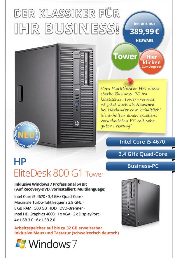 Business PC HP EliteDesk 800 G1 Tower kaufen