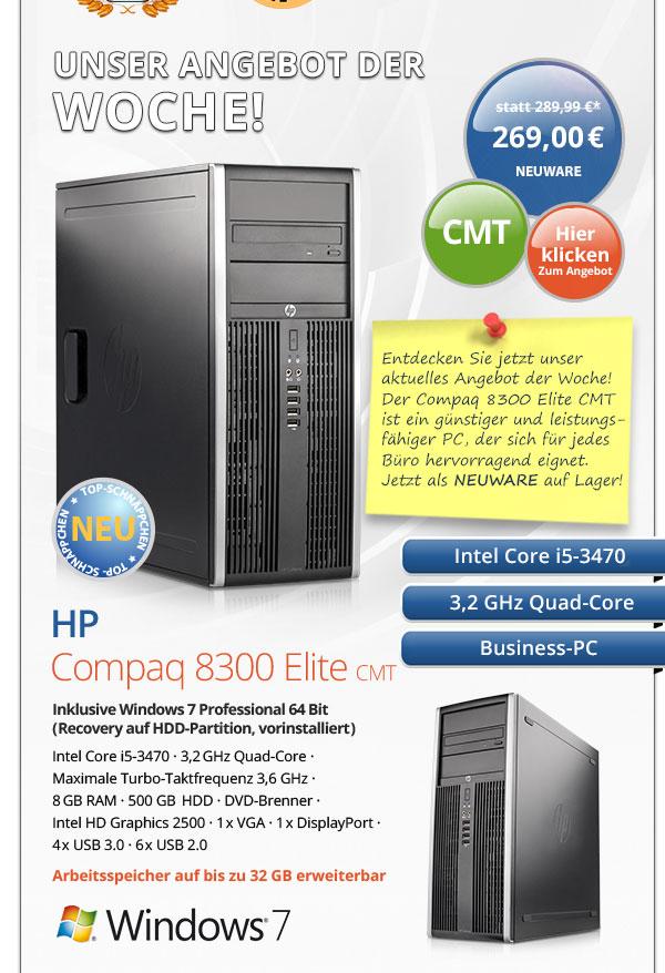 Business PC HP Compaq 8300 Elite CMT gebraucht kaufen
