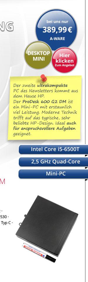 Bild von HP Prodesk 600 G1 DM