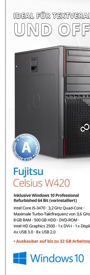 Bild von Fujitsu Celsius W420