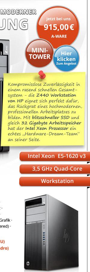 Bild von HP Z440 Workstation