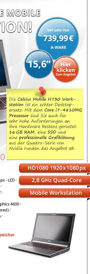 Bild von Fujitsu Celsius Mobile H730