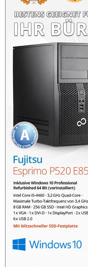 Bild von Fujitsu Esprimo P520 E85+