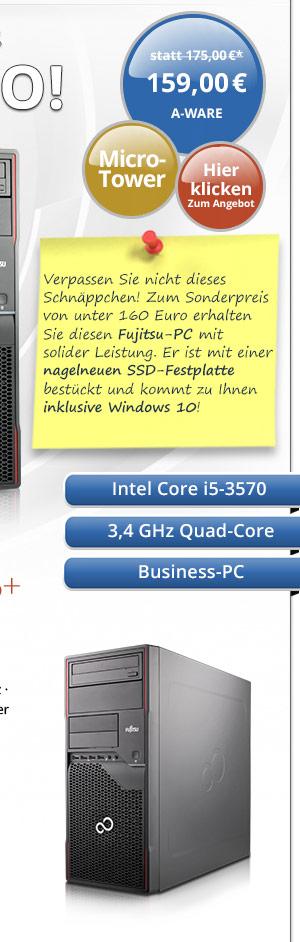 Bild von Fujitsu Esprimo P710 E85+
