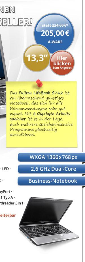Bild von Fujitsu LifeBook S762