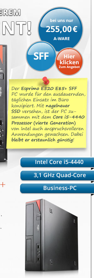 Bild von Fujitsu Esprimo E520 E85+