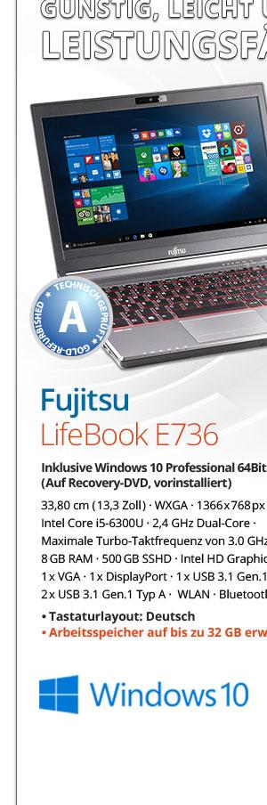 Bild von Fujitsu LifeBook E736
