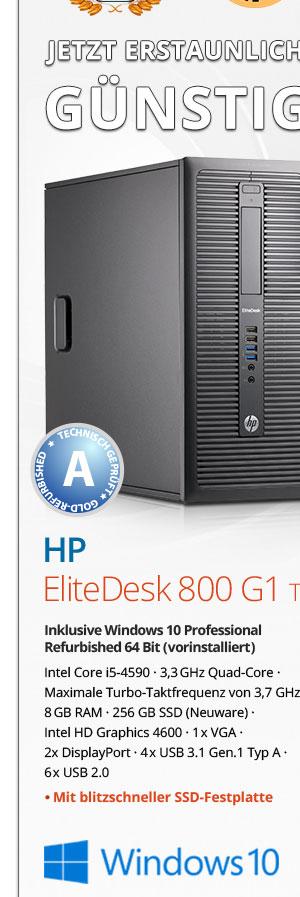 Bild von HP EliteDesk 800 G1 Tower