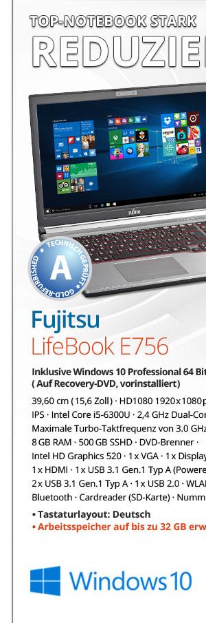 Bild von Fujitsu Lifebook E756