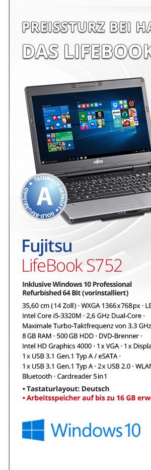 Bild von Fujitsu Lifebook S752