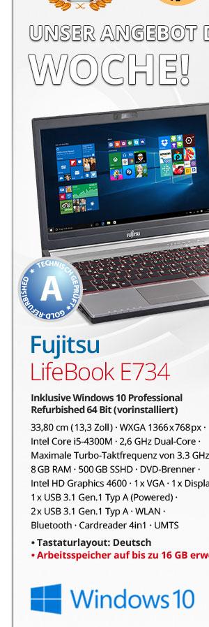 Bild von Fujitsu Lifebook E734
