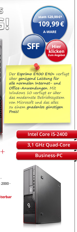 Bild von Fujitsu Esprimo E900 E90+