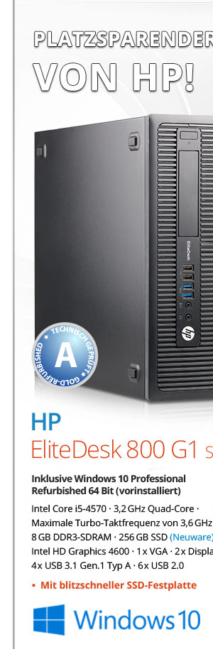 Bild von HP EliteDesk 800 G1 SFF