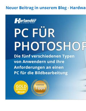 PC für Photoshop
