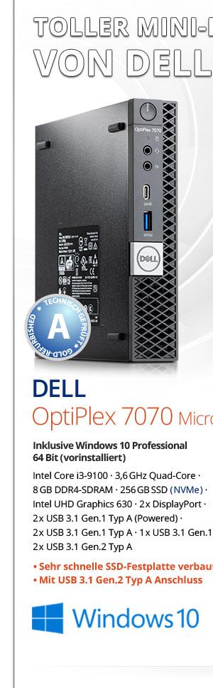 Bild von Dell OptiPlex 7070 Micro