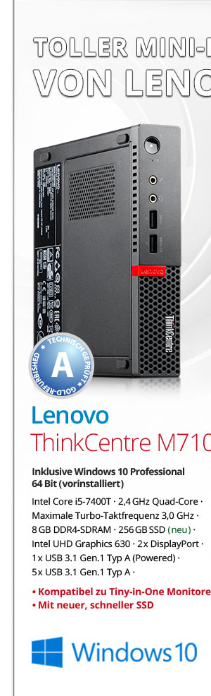 Bild von Lenovo ThinkCentre M710q
