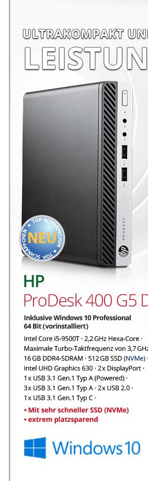 Bild von HP ProDesk 400 G5 DM