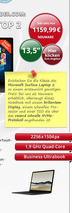 Bild von Microsoft Laptop 2