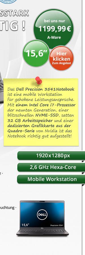 Bild von Dell Precision 3541