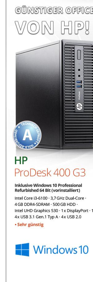 Bild von HP ProDesk 400 g3