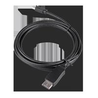 Value Displayport Kabel DP miniDP st st 2m schwarz